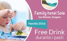 family hotel sole hotel per le vacanze delle famiglie sul gargano in puglia clic per andare al sito del family hotel sole sul gargano puglia
