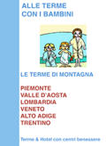 guida catalogo alle terme per bambini e agli hotel con centro benessere della montagna